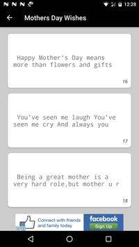 Happy Mother's Day SMS 2017 apk screenshot