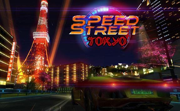 Speed Street : Tokyo poster