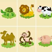 Animals for kids - Memory Game icon
