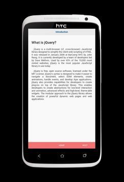 Learn jQuery v2 apk screenshot
