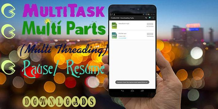 FireBird - Download Manager ( Multithreading ) for Android - APK