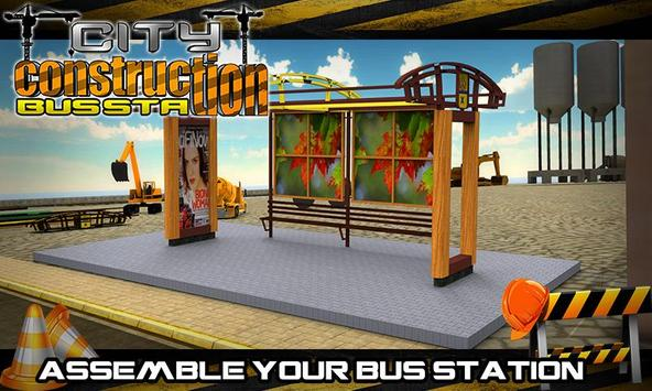City Construction Bus Station apk screenshot