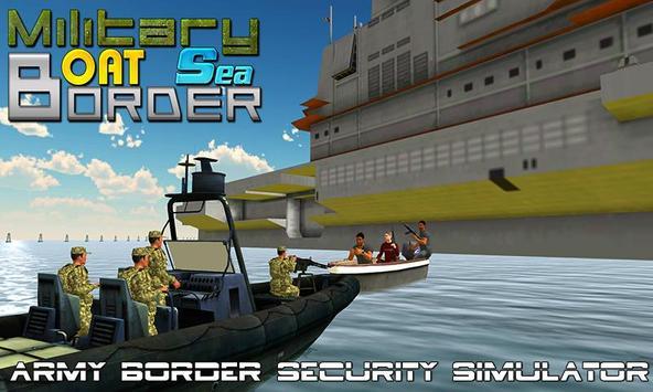 Military Boat Sea Border Sim apk screenshot
