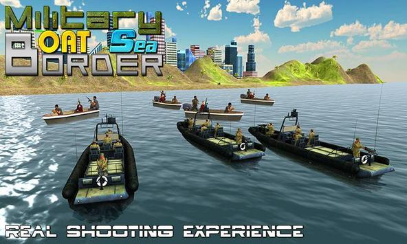 Military Boat Sea Border Sim poster