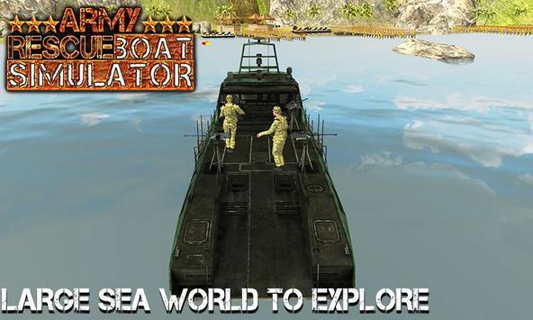Army Rescue Boat Simulator 3D apk screenshot