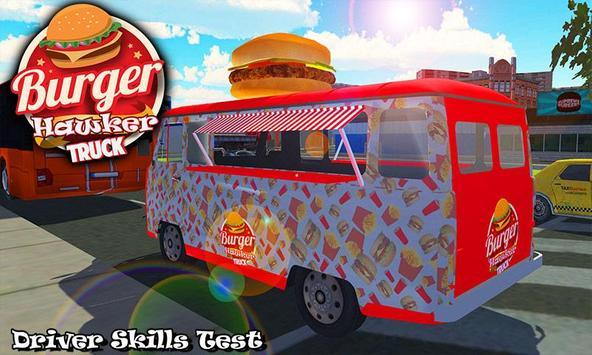Burger Hawker Delivery Truck apk screenshot