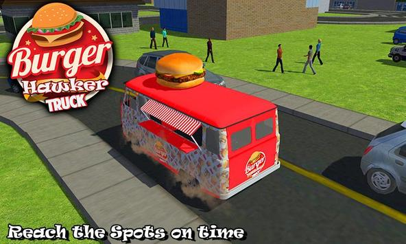 Burger Hawker Delivery Truck screenshot 3