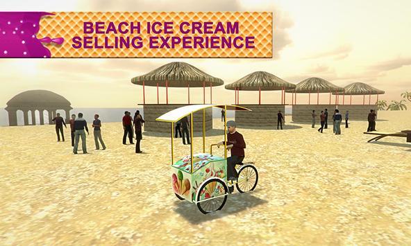Beach Ice Cream Delivery Bike screenshot 1
