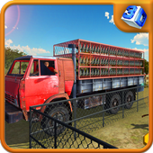 Chicken Delivery Truck Driver icon