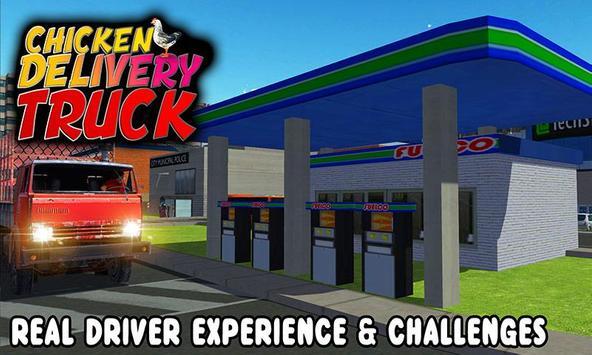 Chicken Delivery Truck Driver apk screenshot