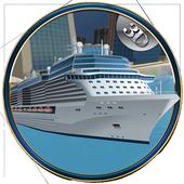 City Tourist Cruise Ship icon