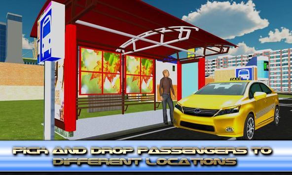 Electric Car Taxi Driving apk screenshot