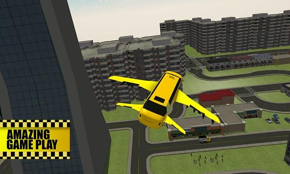 Flying Limo Taxi Simulator poster