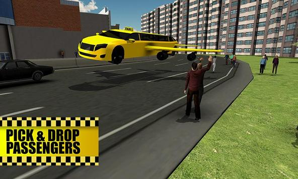 Flying Limo Taxi Simulator screenshot 1
