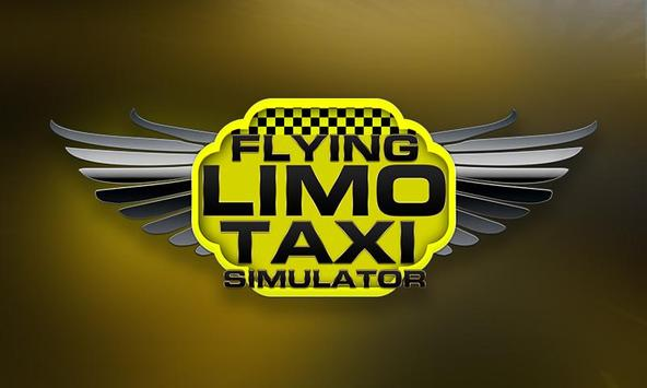 Flying Limo Taxi Simulator screenshot 2