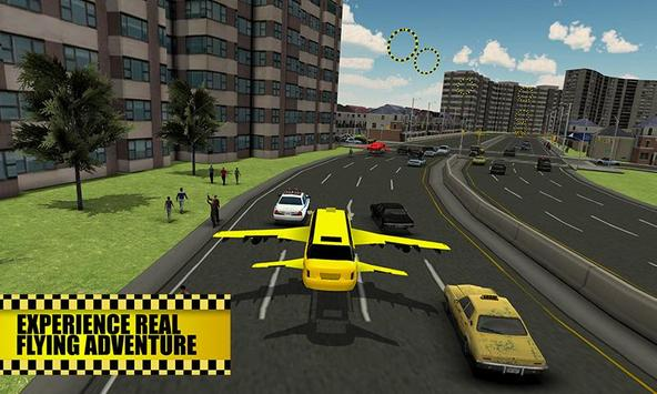 Flying Limo Taxi Simulator screenshot 3