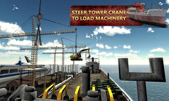 Heavy Machine Transporter Ship screenshot 3