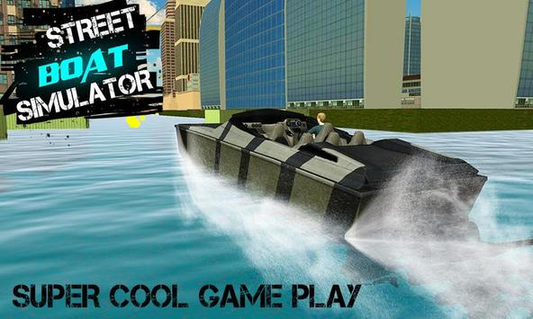 Street Boat Simulator -3D City apk screenshot