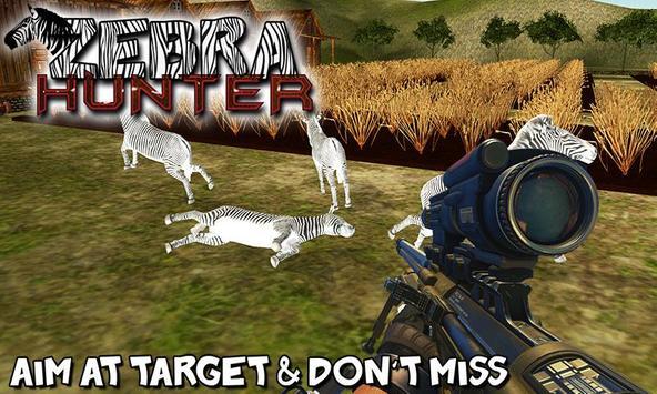 Zebra Hunter – Farm Hunting poster