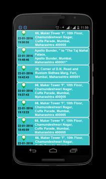 Mobile Location Tracker screenshot 8