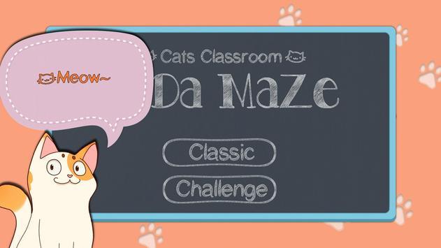Mida Maze: Cats Classroom screenshot 1