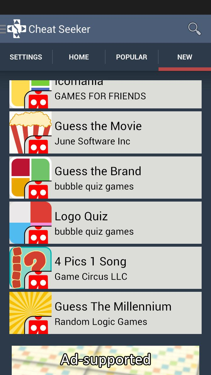 Cheat Seeker: Emoji Answers for Android - APK Download