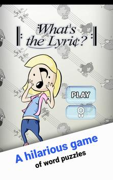 What's the Lyric? (Song Quiz) screenshot 14