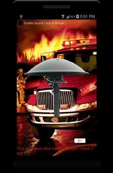 Fire Alarm Siren: Fire Fighter poster