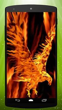 Fire Eagle Live Wallpaper poster