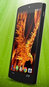 Fire Eagle Live Wallpaper screenshot 1