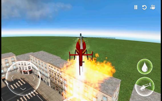 Helicopter Simulator: Firefighter Rescue Flight 3D screenshot 7