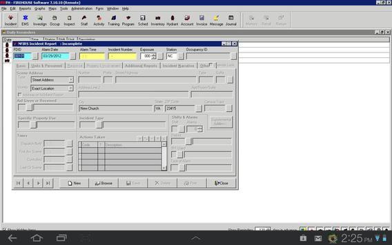 FHiWeb screenshot 1