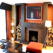 Fireplace Design Ideas icon