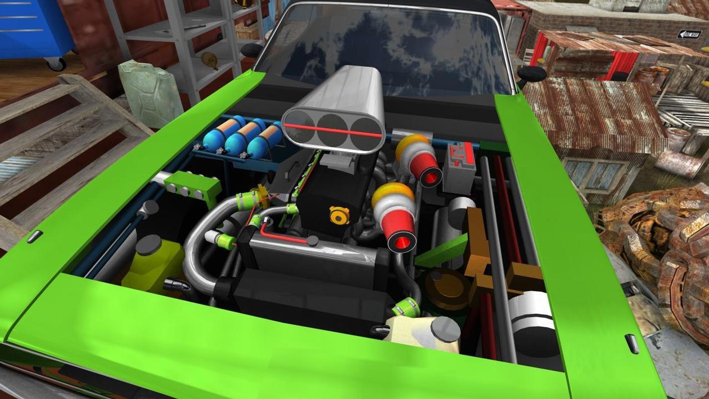 Fix My Car Full Apk >> Fix My Car Classic Muscle 2 Junkyard Blitz Lite Apk Download
