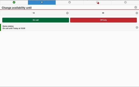 FireServiceRota apk screenshot