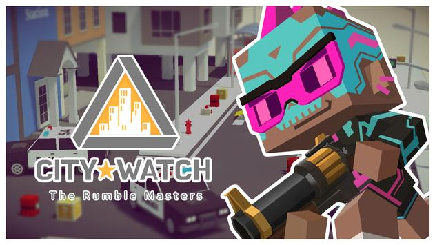 City Watch: the Rumble Masters - Pixel Brawl PVP poster