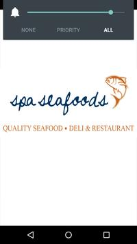 Spa Seafoods poster