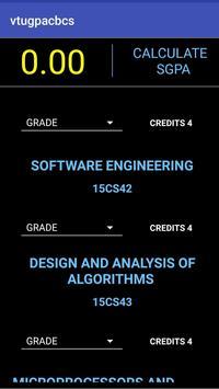 VTU GPA (CBCS) apk screenshot