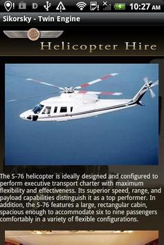 Helicopter Hire apk screenshot