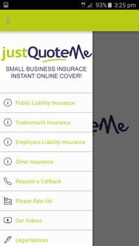 Just Quote Me Insurance Finder apk screenshot