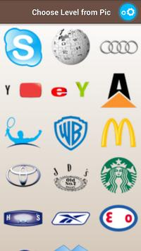 Answers for Picture Quiz Logos apk screenshot