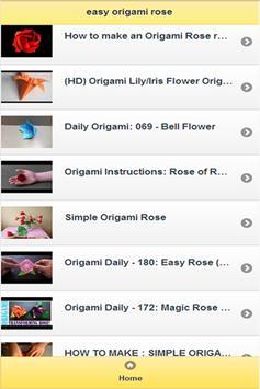 easy origami rose apk screenshot