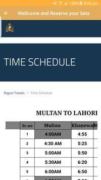 Online Bus Tickets Booking for (Pakistan) screenshot 2