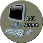 Fixing bad video on LCD screen icon