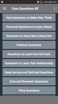 Cute Questions BF screenshot 1