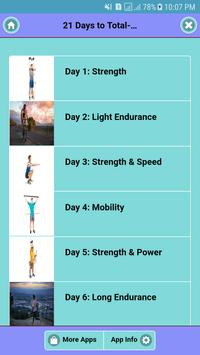 21 Days to Total-Body Fitness poster