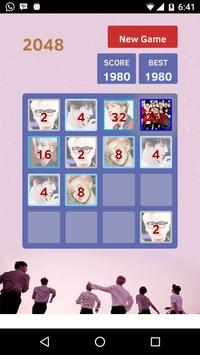 ARMY: 2048 for BTS stan apk screenshot