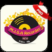 Mjsa Recorder icon