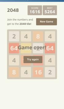 A 2048 PUZZLE apk screenshot