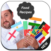 Quick Food Recipes -Over World icon